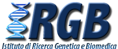 Institute for Genetic and Biomedical Research (IRGB) Logo